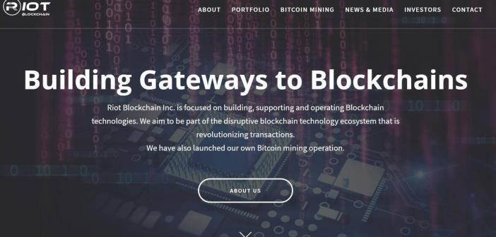 What is Riot Blockchain?
