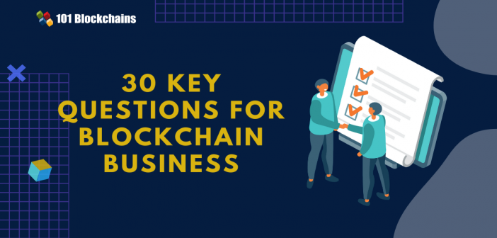 questions for blockchain business