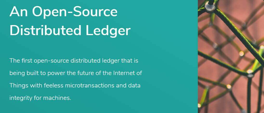 IOTA alternative to blockchain technology