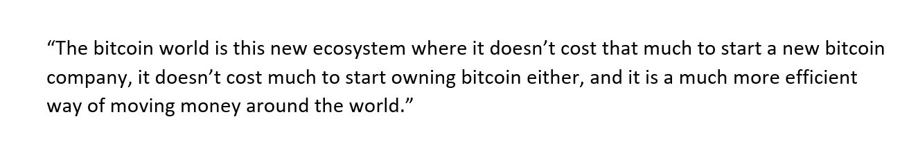 Tim Draper blockchain Quotes