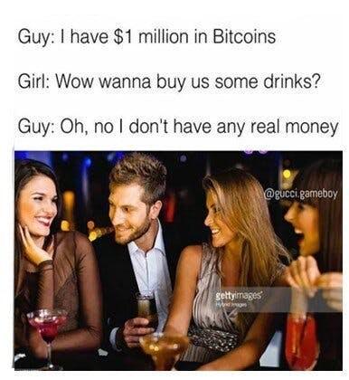 funny blockchain meme bitcoin