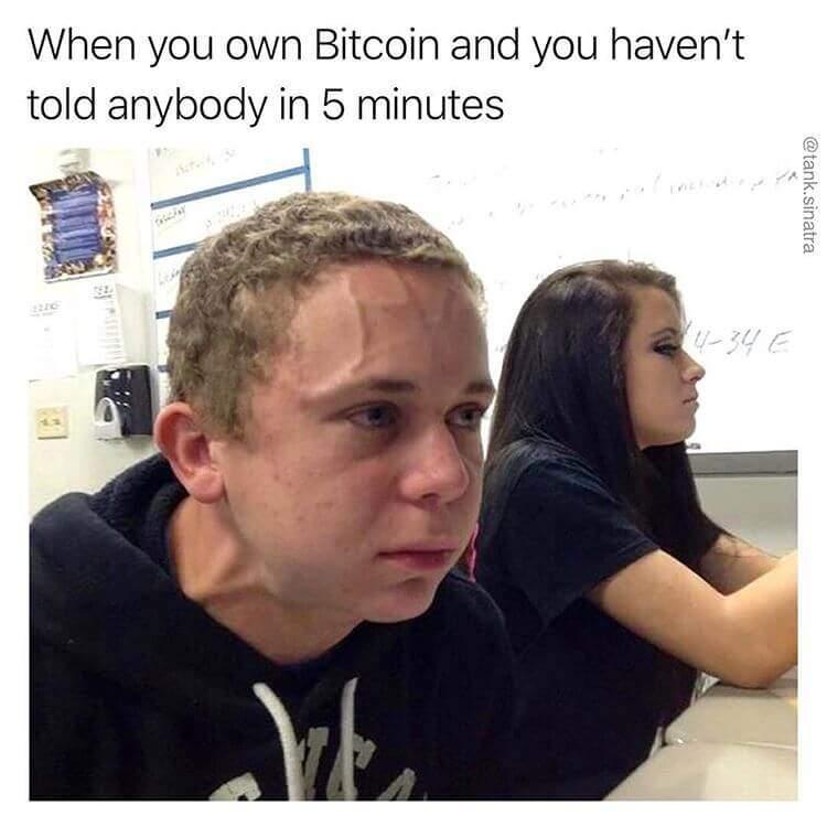the pressure bitcoin funny meme