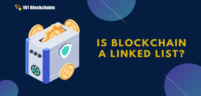 blockchain vs linked list