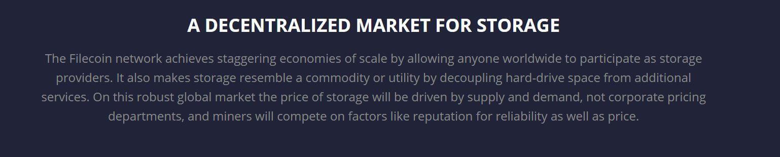 what is filecoin vision