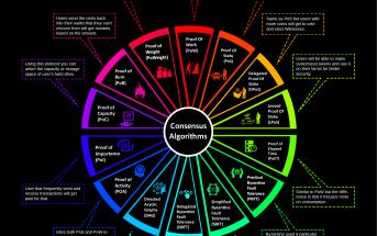 Consensus Algorithms Infographic