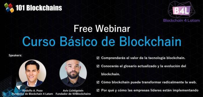 Presentación Webinar gratuita – Curso Básico de Blockchain
