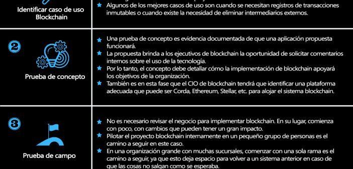 Guía paso a paso de la Implementación de Blockchain