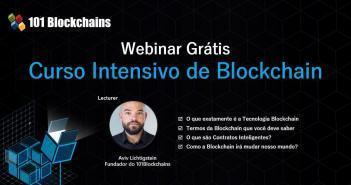 Webinar da Tecnologia Blockchain