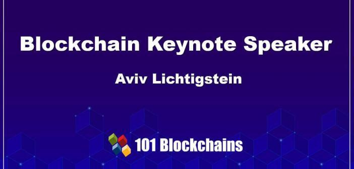 Top Blockchain keynote speaker technology business