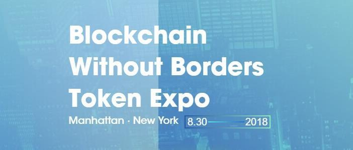Blockchain without borders token expo event