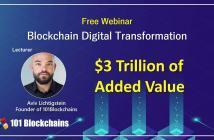 Blockchain Digital Transformation webinar