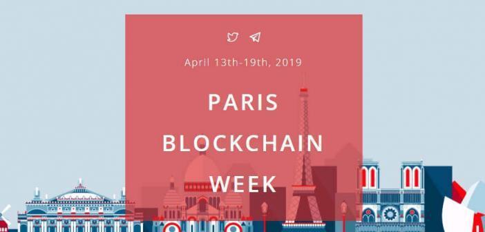 Paris Blockchain Week Event