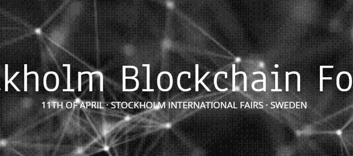 Stockholm Blockchain Forum Conference