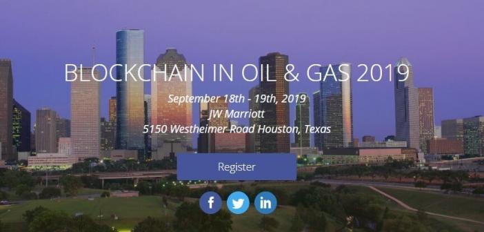 blockchain in oil and gas conference