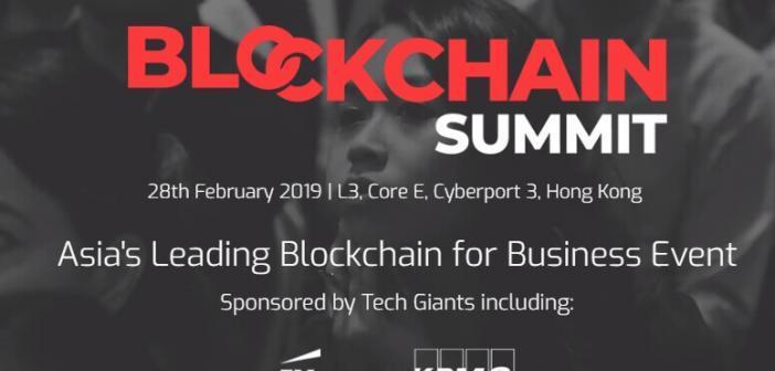 blockchain summit hongkong event
