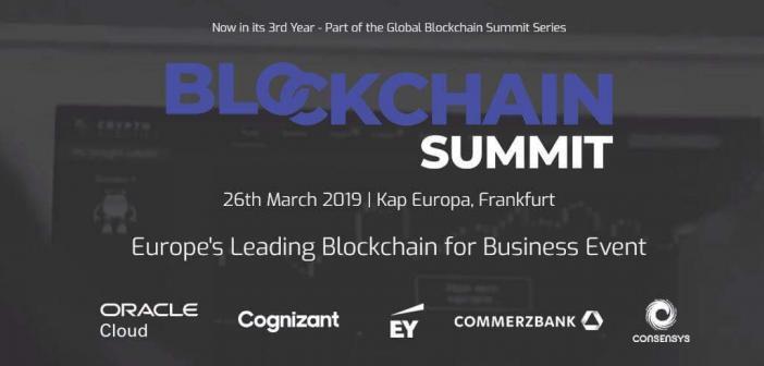 blockchain summit frankfurt
