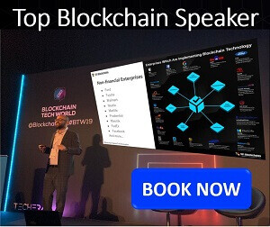 top blockchain speaker