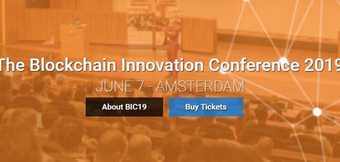 Blockchain Innovation Conference 2019