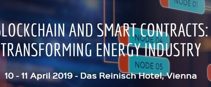 Blockchain and smart contracts energy industry conference