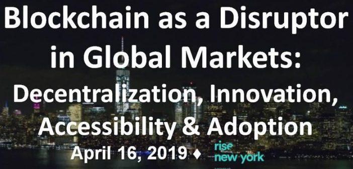 Blockchain-as a disruptor global markets