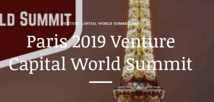 Paris 2019 Venture Capital World Summit Conference