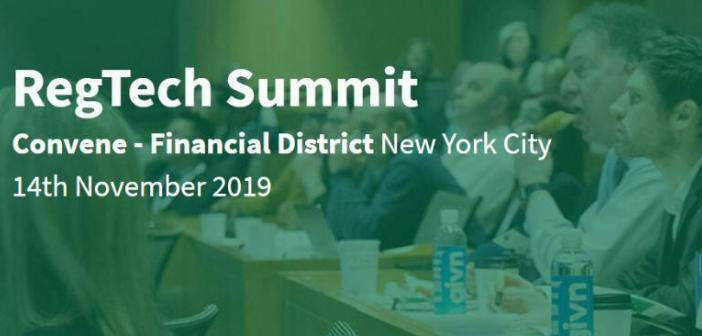 RegTech Summit NewYork 2019