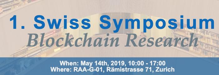 Swiss Symposium Blockchain Research