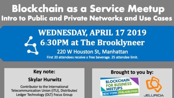 blockchain meetup new york