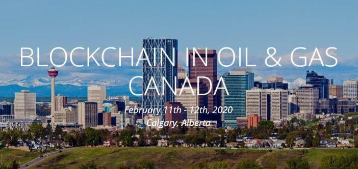 blockchain oil and gas canada conference