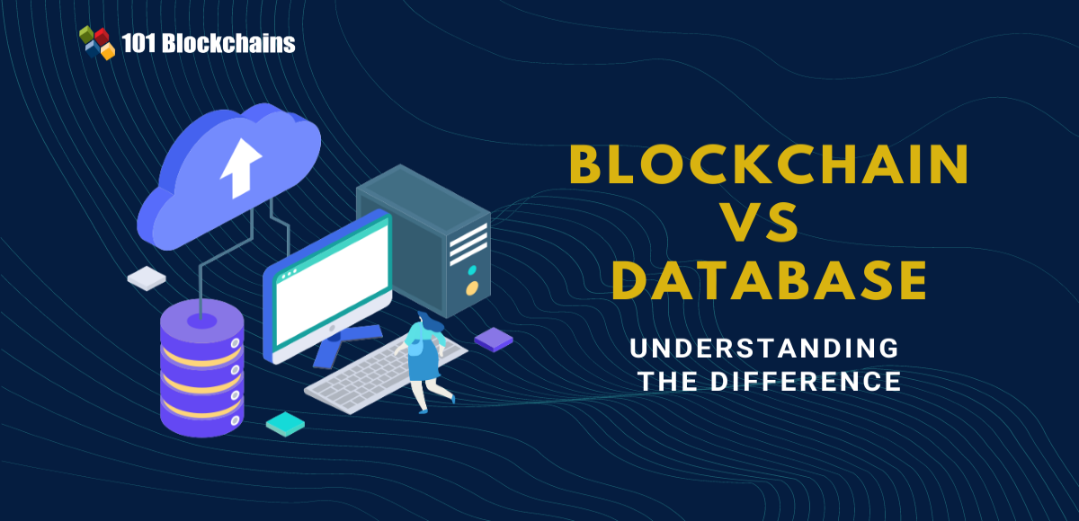 blockchain vs database