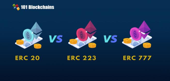 erc20-vs erc223 vs erc777