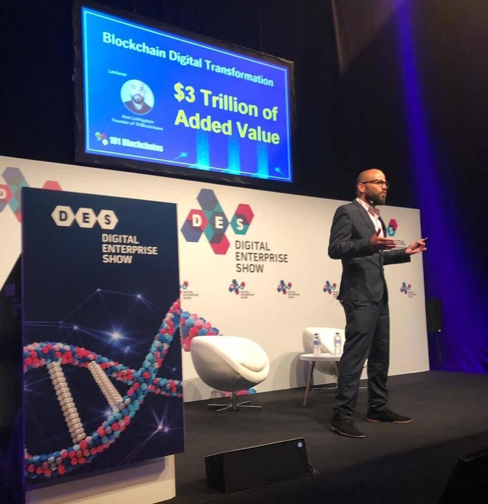 Blockchain keynote speaker 2019