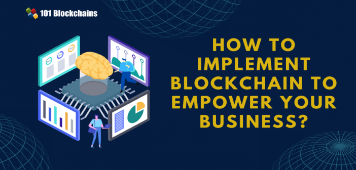 implement blockchain
