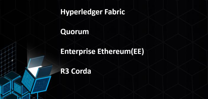 Enterprise blockchains framework