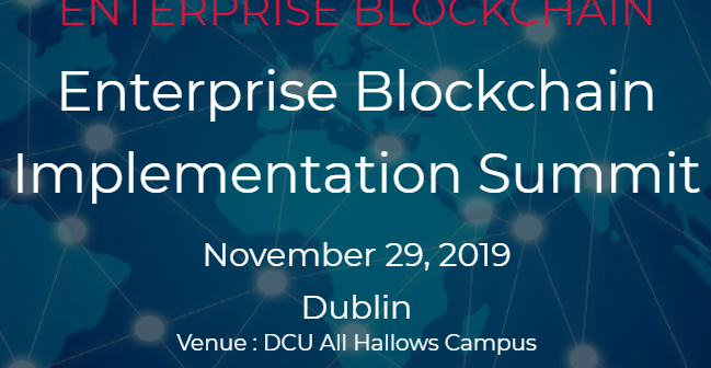 blockchain dublin event