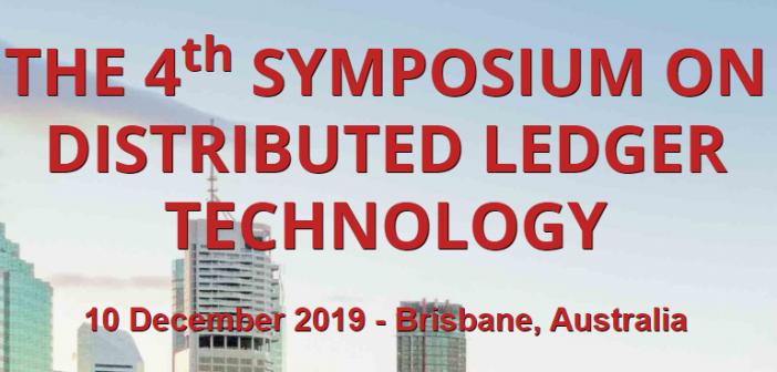 distributed ledger technology symposium Brisbane