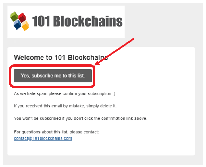 welcome to 101blockchains