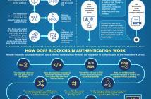 HOW DOES BLOCKCHAIN WORK infographics