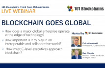 Live Webinar Blockchain Goes Global