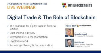 digital trade and the role of blockchain webinar