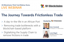 Webinar Frictionless Trade by Utilizing Blockchain Based Platforms