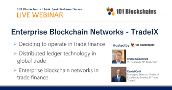 enterprise blockchain network webinar