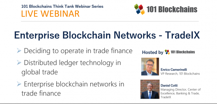 enterprise blockchain network webinar