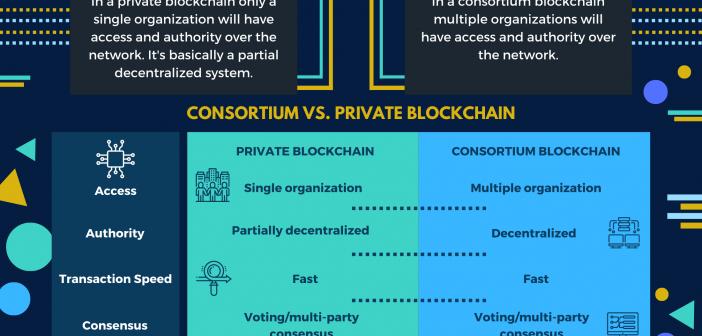 private blockchain vs consortium blockchain
