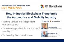 Industrial blockchain webinar