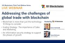 trade with blockchain webinar