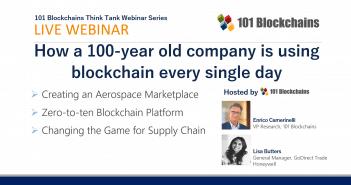 how using blockchain webinar