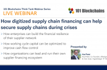 webinar supply chain financing with blockchain technology