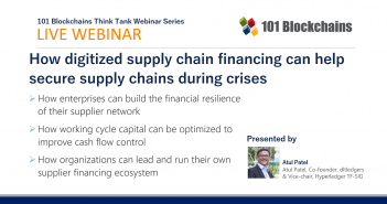 webinar supply chain financing with blockchain technology