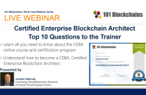 ceba the certified enterprise blockchain architect webinar
